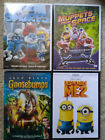 Lot of 4 Disney,Dispicable Me 2Goosebumps Smurfs Muppets from space