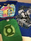 Cartoon Network/DC Comics T-Shirts, Assorted Cartoons, Size Small, Licensed, NWT