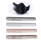 1X stainless steel cricket hair comb anti static cutting comb professional YN