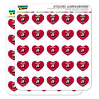 Whiskey Because Beer Isn't Fast Enough Heart Planner Scrapbook Craft Stickers