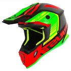 NEW 2019 J38 BLADE RED- LIME - BLACK MATT HELMET MEDIUM