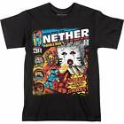 Official Jinx Minecraft - Tales From The Nether - Youth Childs Black T-Shirt