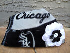 Chicago White Sox Fleece Flower Hat - Sizes Newborn Baby, Girls, Adult  Women on Ebay