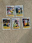 James Harrison + Bell Steelrs NFL Cards Lot (5 Cards)