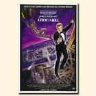 A View to a Kill 20x30 24x36inch 007 James Bond Movie Silk Poster Hot $8.08 CAD on eBay
