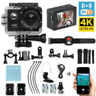 Full HD Action Camera Sport Camcorder Waterproof DVR Helmet WiFi Remote Go Pro