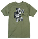 TWIN PEAKS Agent Cooper Coffee Sequence Habitat Skateboards Olive Green T-Shirt
