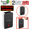 Ess Mini Portable Electric Fan Heater Air Warmer Room Office Energy Save Black
