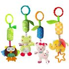 Katedy Toy 4 Packs Rattle Cat Seat Hanging Bell for Newborn Toddlers Play... New