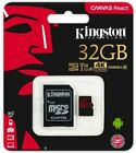 Kingston Micro SD MicroSDHC MicroSDXC Cards 8GB-16GB-32GB-64GB-128GB Retail Pack
