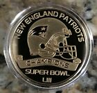 HIGHLAND MINT NEW ENGLND PATRIOTS SB 53 CHAMPIONS GOLD COIN