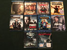Lot of 10 Bluray movies discs PLANET OF THE APES - INCEPTION - SNOW WHITE etc...