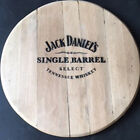 Wall Plaques Recycled Wooden Solid Oak Branded  Whiskey Barrel End Vintage