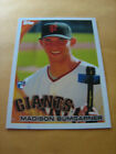 MADISON BUMBARNER GIANTS 2010 TOPPS ROOKE RC # 105 SEE PICTURES L@@@K