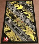 "Ghostbusters ""Ghostbusted"" - Anthony Petrie Screen Print Limited Edition #65/300"