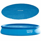 """Intex 15' x 33"""" Above Ground Swimming Pool, Filter Pump and Vinyl Solar Cover"""