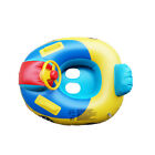 Baby Kids Float Swimming Ring Car Steering Wheel Children Pool Toy Seat Boat US