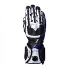 Knox Handroid MK4 Motorcycle Gloves Blue Hand Armour Summer Bike Race Sports