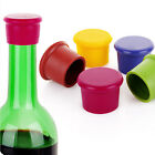 Reusable Silicone Wine Beer Top Bottle Caps Stopper Drink Savers Sealer IJ