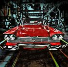 1983 Christine Movie Poster Art illustration   1958 Plymouth Fury Factory