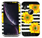 For Apple iPhone XS MAX - KoolKase Hybrid Slicone Cover Case - Sunflower 09