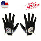 Golf Gloves WeatherSof Men's Black-Pair Right & Left Hand Value Pack Select Size