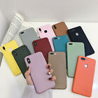 Original Silicone Case Silikon Hülle Fit For iPhone X 8 7 Plus XR XS Max