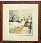 "Bernard Dunstan 1979 Signed,Framed Lithograph ""The Rehearsal"" LOCAL PICKUP ONLY"