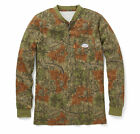 Flame Resistant Camo Long Sleeve Henley T-Shirt - CMF458