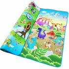 Baby Double Surface Play Mat Animal Car Dinosaur Game Pad For Children Crawling