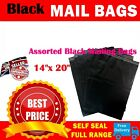 Black Mailing Bags Strong Poly Postal Postage Post Mail Self Seal All Size Cheap
