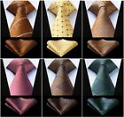 Formal Ties Wear Men's Necktie Check Plaids Pocket Square Tied For Men Accessory $13.52 CAD on eBay