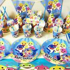 BABYSHARK BABY SHARK CUP PLATE TABLE COVER BANNER BALLOON PARTY SUPPLIES CURTAIN