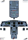 Airbus A320 CRT - CFM EIS - Cockpit Training Posters - 100% Accurate 3D Artwork
