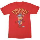 HOSTESS TWINKIE THE KID T-SHIRT DISTRESSED RED RETRO SNACK FOOD TEE MENS