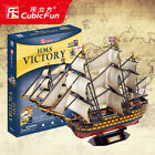 3D paper puzzle building model toy assemble England HMS Victory boat ship gift $31.33 USD on eBay