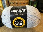 Yarnsprirations - Bernat Blanket Yarn - Chilled Blue - Super Bulky 6  - 10.5 oz