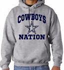 DALLAS COWBOYS NATION Pullover Hoodie Sweatshirt Adult S, M, L, XL, 2X, 3XL on eBay