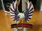 Firefighter Thin Red Line First Responders Firewoman Fireman Challenge Coin