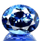 3.65ct IF~FLAWLESS SPARK RARE NATURAL D BLOCK BEST BLUE TANZANITE EARTH MINED!