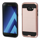 For Samsung Galaxy A5 Brushed Hybrid Impact Armor Protector Case Cover