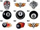 Billiard Ball No.8 Number Eight Sew/Iron On Patch Embroidered Applique-Store $2.98 USD on eBay