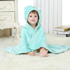 Baby CARTOON Animals Shaped Hooded Bath And Beach Towel Multiprinted Bathrobe