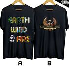 Earth Wind and Fire Band Concert Club T-shirt Cotton 100% Size S-4XL Free Ship image