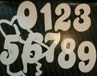 UGP Number Stickers for Racing Numberplates, BMX MTB Road MX. Old School style