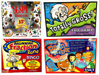 Lot of 4 Educational Games Home Schooling Fun I SPY Fraction Zone Bingo & More