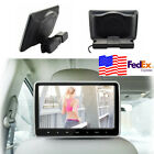"10"" Headrest DVD Player Monitor Plug-and-Play Rear-Seat Entertainment System USA"