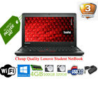 Cheap Fast Kids Student Lenovo Netbook Laptop | 4GB | 500GB | WiFi | Win10 |HDMI