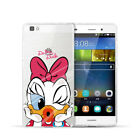 Disney Mickey Minnie Soft Clear Case Cover For Huawei P10 Plus P9 P8 Lite Mate 9