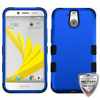 For HTC Bolt TUFF Hybrid Phone Hard Silicone Armor Protector Case Cover